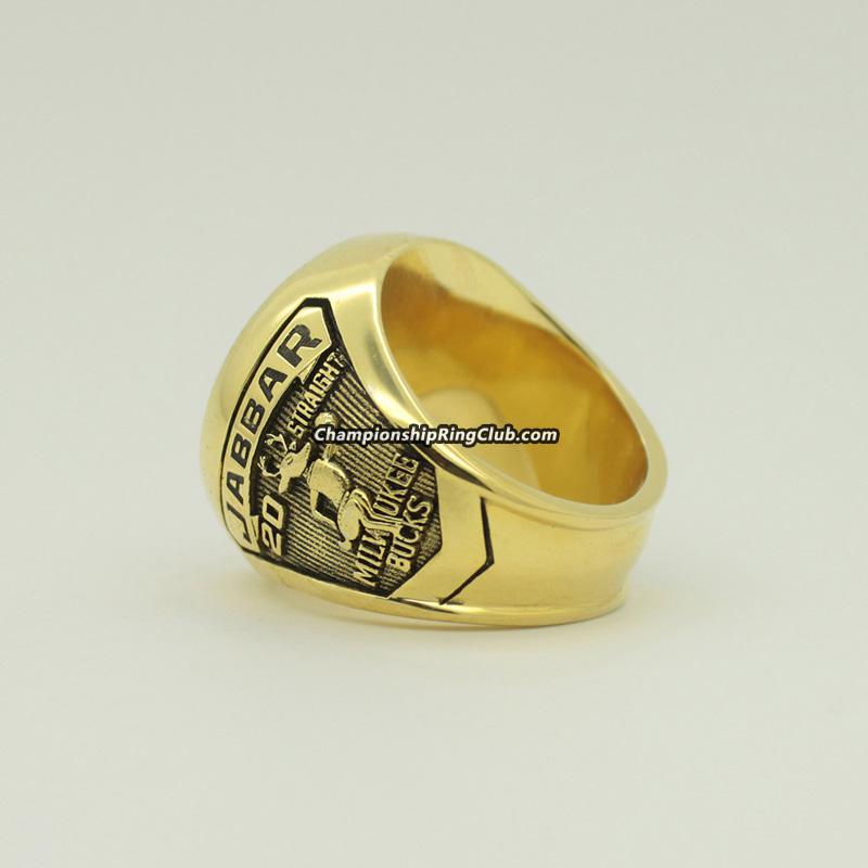 1971 Milwaukee Bucks NBA World Championship Ring - http ...